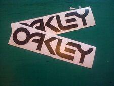 Oakley 2 100mm motogp Motocross BMX Rally Surf Decal Stickers