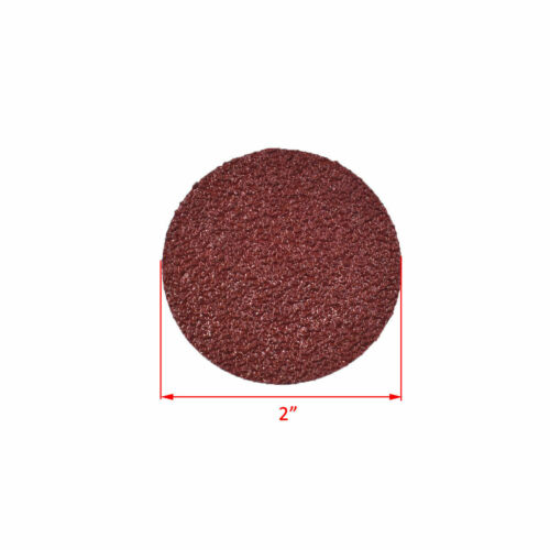 "2/""//3/"" R Type Discs 24-320 Grit Roll Lock Sanding Pads Grinding Discs Wheel"