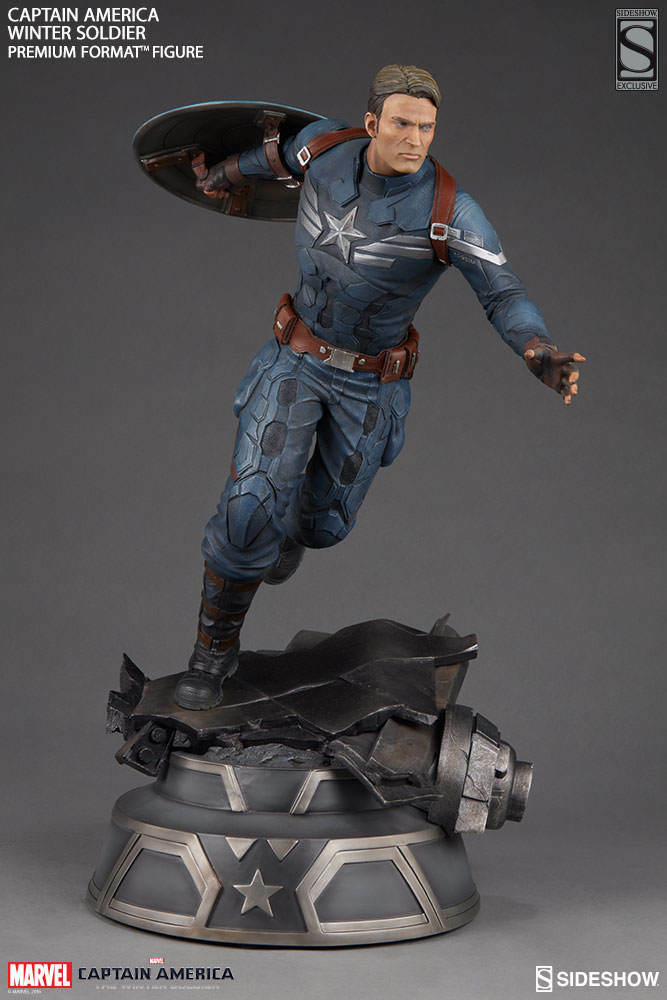 Captain America The Winter Soldier Premium Format FIigure Sideshow Exclusive 750