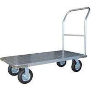 New Vulcan 8958720 Aluminum Heavy Duty Platform Cart Ebay