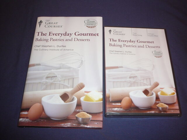 Teaching Co Great Courses DVD  Everyday Gourmet BAKING PASTRIES DESERTS  + bonus