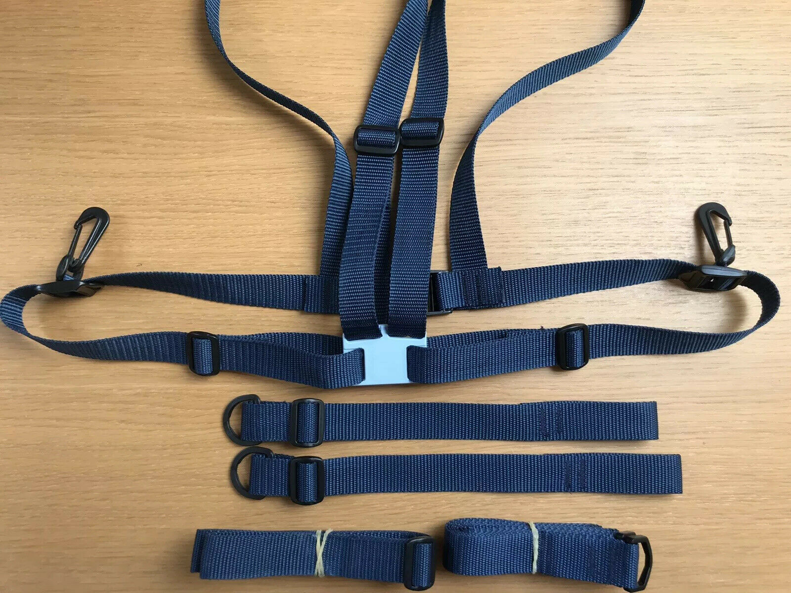 Navy Adult Baby Harness, Walking Reins, Anchor, Crotch Straps (INT. POST PAID)!