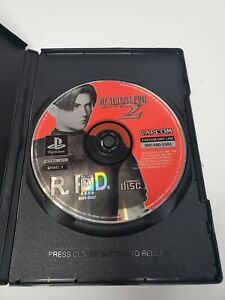 Disc 1 only Resident Evil 2 Black Label Playstation 1 Ps1 TESTED WORKING