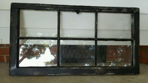 VINTAGE SASH ANTIQUE WOOD WINDOW PICTURE FRAME PINTEREST  DISTRESSED BLACK