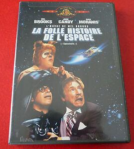 DVD-Movie-La-Folle-Histoire-de-L-039-espace-1987-Original-Version-Spaceballs