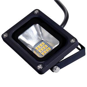Details About 12v Dc Waterproof Ip65 10 Watt Outdoor Led Flood Light Garden Lamp