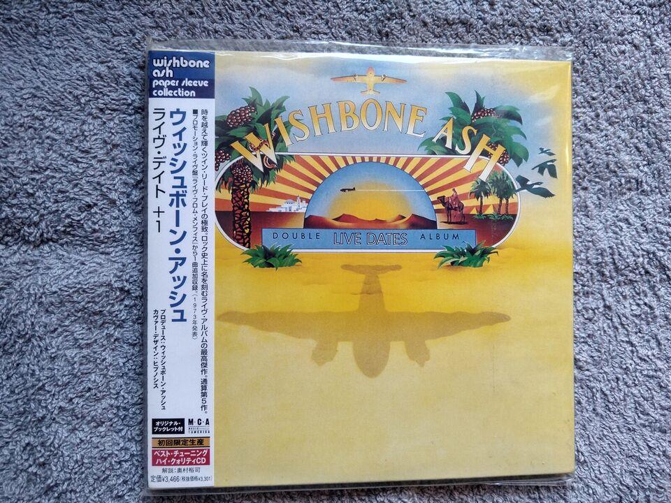 Wishbone Ash: Live dates, rock