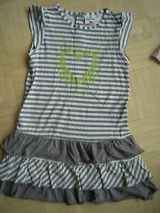 TOPOLINO süßes Mädchen Sommer Kleid Streifen Punkte Gr.122 ...