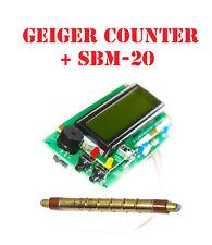 Arduino IDE compatible Geiger counter dosimeter /w LCD shield
