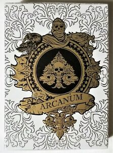 Arcanum-White-Deck-Limited-Edition-Playing-Cards-by-Gambler-039-s-Warehouse-USPCC
