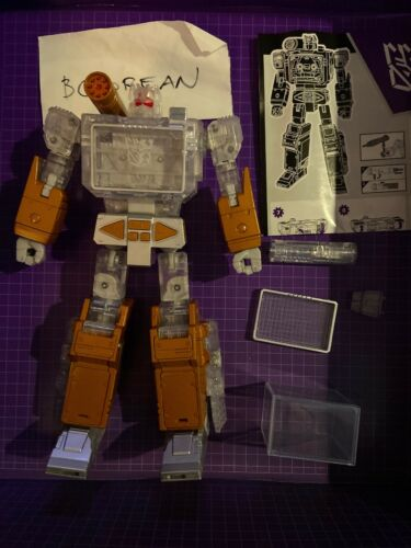 Transformers Masterpiece Year of the Goat Platinum Edition Yotg Soundwave