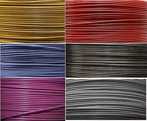 1-Meter-Hidraulico-Cable-de-freno-en-Flex-ACERO-optica-DIVERSOS-COLORES