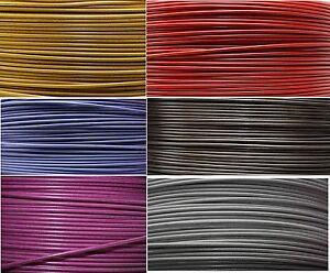 1-Meter-Hidraulico-Cable-de-freno-en-Flex-ACERO-optica-DIVERSOS-COLORES