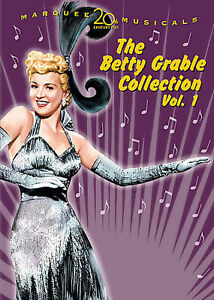 DVD-Box-Set-BETTY-GRABLE-Collection-Vol-1-DOWN-ARGENTINE-WAY-3-more-F-039-SLD