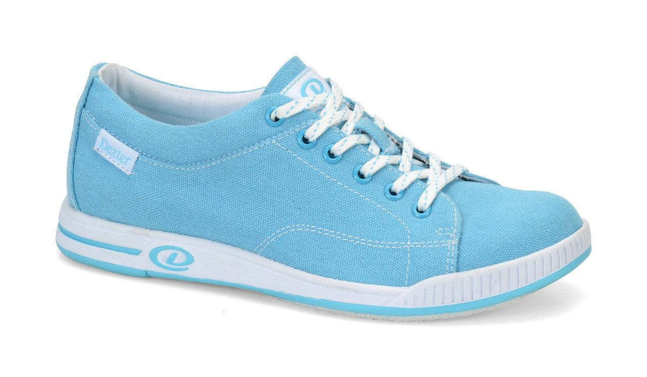 Dexter Katie Comfort Canvas Womens Bowling shoes Sky bluee