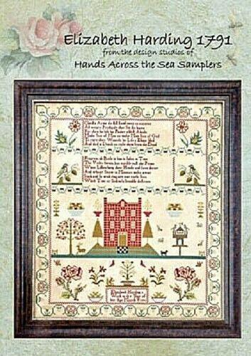 Elizabeth Harding 1791~Hands Across The Sea Samplers