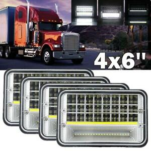 Car & Truck Parts Lighting & Lamps 4x LED Headlamps for