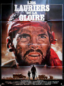 Affiche-Pliee-120x160cm-LES-LAURIERS-DE-LA-GLOIRE-Field-Of-Honor-1986-BE