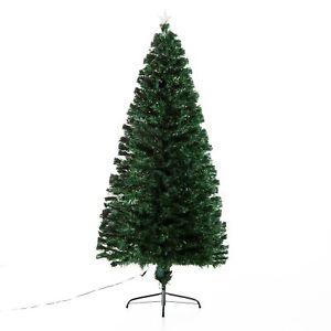 HOMCOM-Albero-di-Natale-Artificiale-230-Rami-in-PVC-con-Luci-LED