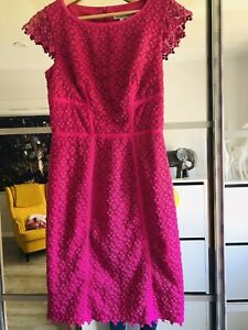 Fenn-Wright-Manson-Cerise-Pink-Special-Occasion-Dress-Size-10-Used-Once
