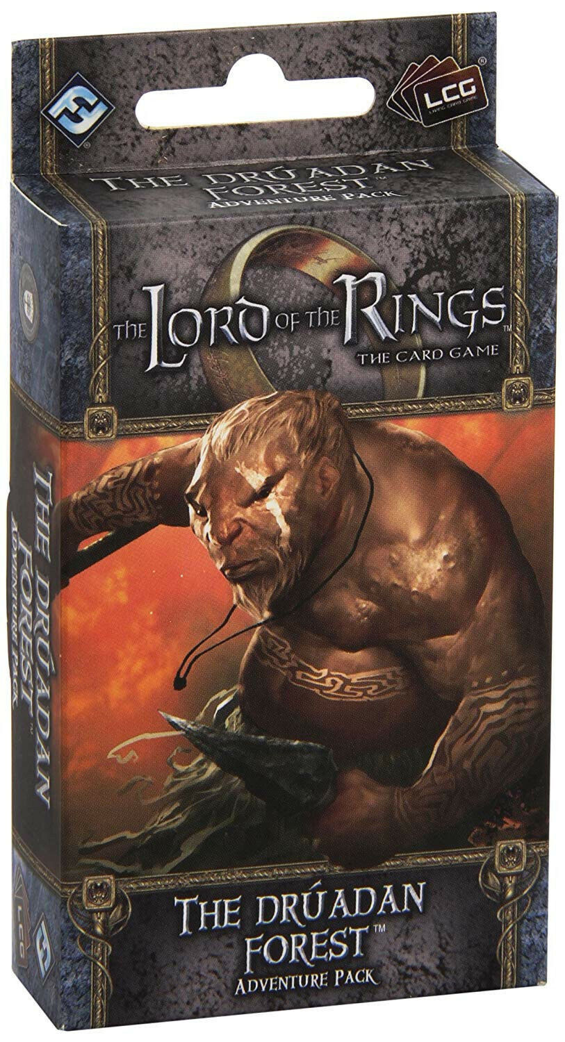 Fantasy Flight Games Games Games Lord of The Rings Expansion The Druadan Forest Adventure e6799a