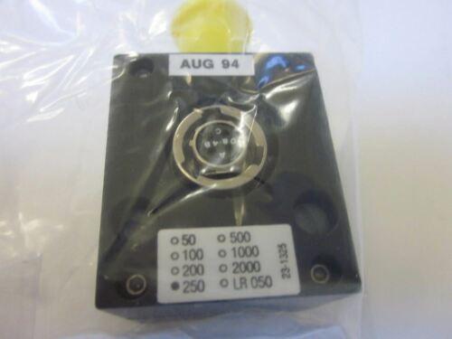 SPAN LR-050 Digital Indicator// Local Display Module w// Bendix Connector 250 psi