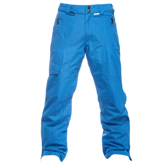Hot Mens Skiing Snowboard Cotton Padded Bib Pants Windproof Overalls Salopettes