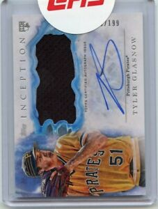 2017-Topps-Inception-Autograph-Patch-199-IAP-TG-Tyler-Glasnow-Auto-Rookie-Card