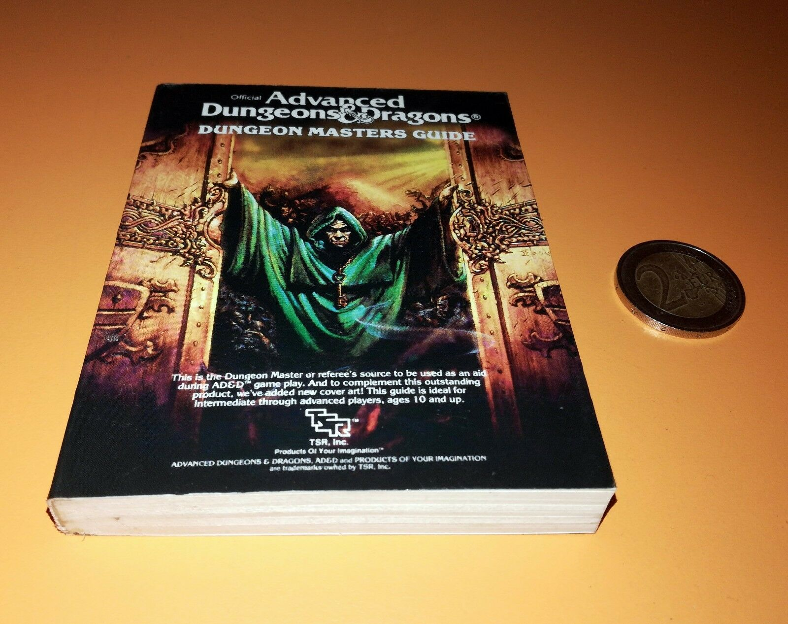 DUNGEON MASTERS GUIDE 2011 Miniature version book AD&D Collector's Edition  TSR