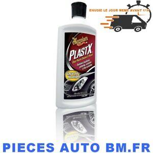 Meguiars-PlastX-Polish-Renovateur-Phare-Plastique-Transparent