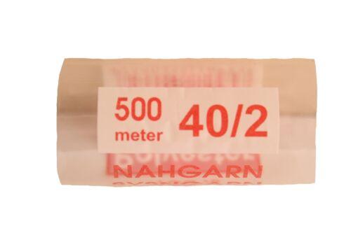 Polyester Nähgarn Rubinrot 500 m 40//2 Universalgarn