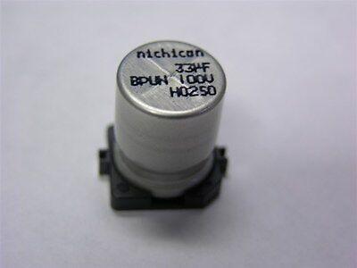5X Electrolytic Capacitor SMD 33uF 100V