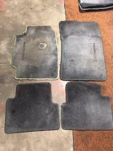 Oem Acura Da Integra Ls Gs Gsr Floor Mats 1990 1991 1992 1993 Ebay