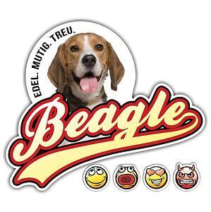 auto aufkleber beagle old school siviwonder sticker emoji smiley dog hund ebay. Black Bedroom Furniture Sets. Home Design Ideas