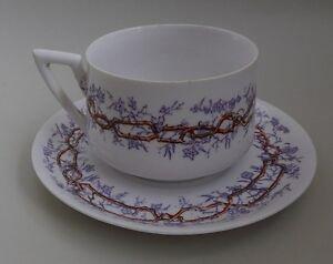 Sarreguemines-Tasse-en-porcelaine-decor-3-branchage-brun-violet