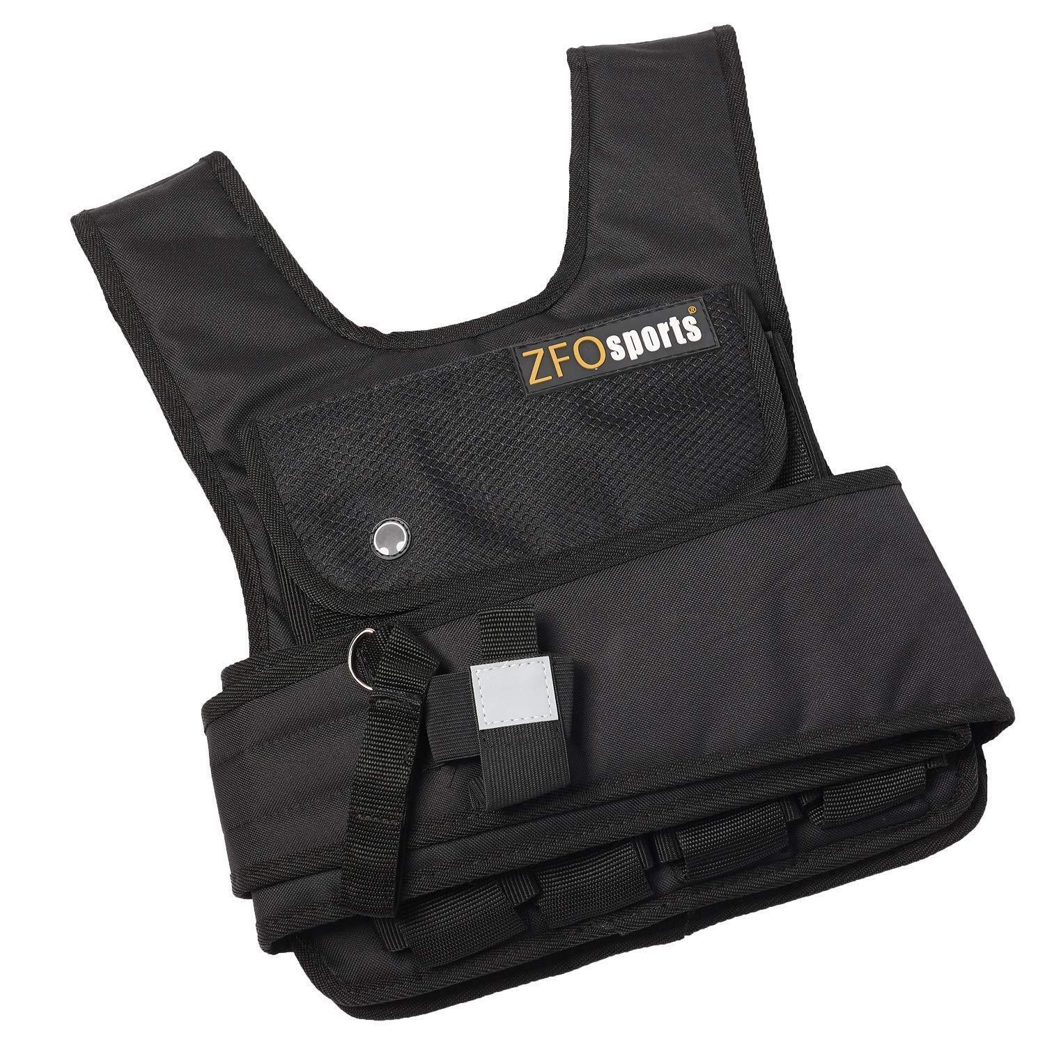 ZFOsports 50lbs SHORT  STYLE ADJUSTABLE WEIGHTED VEST  big discount prices