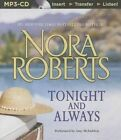 Tonight and Always by Nora Roberts (CD-Audio, 2014)