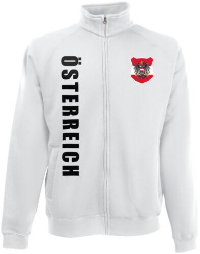 Österreich WM 2018 Sweat Jacke Trikot Name Nummer