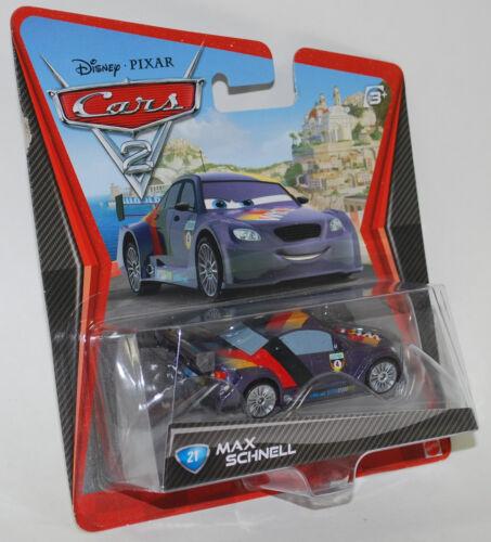 Disney PIXAR Cars 2 MAX SCHNELL #21