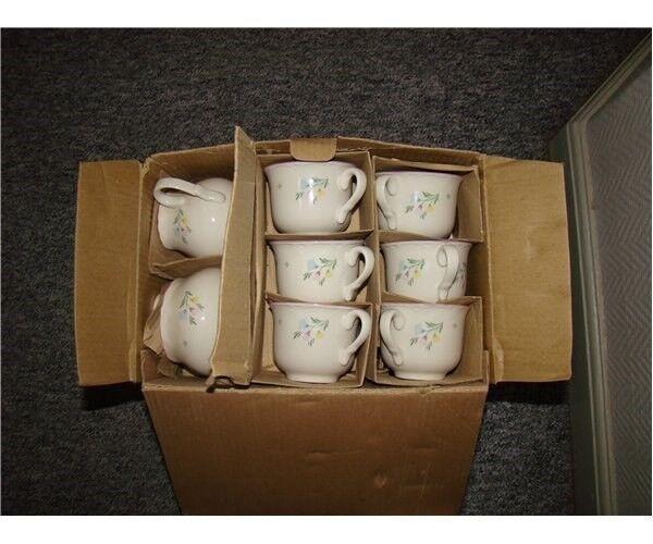 Porcelæn, kopper/flødekande