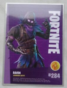 Trading Cards FORTNITE Serie 1: RAVEN # 284, Legendary Outfit