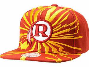 WASHINGTON-REDSKINS-NFL-MITCHELL-amp-NESS-EARTHQUAKE-SNAPBACK-CAP-HAT-NEW-RARE