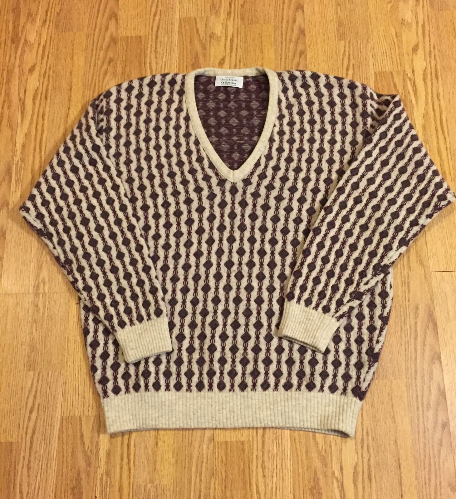 Vintage United colors of Benetton Sweater - Made in