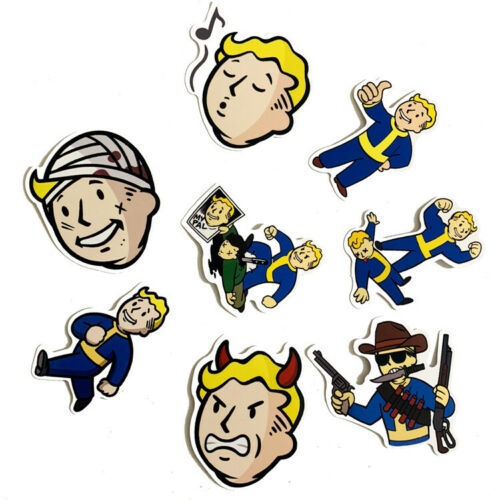 29 pcs Fallout Videogame Sticker For Any Surface