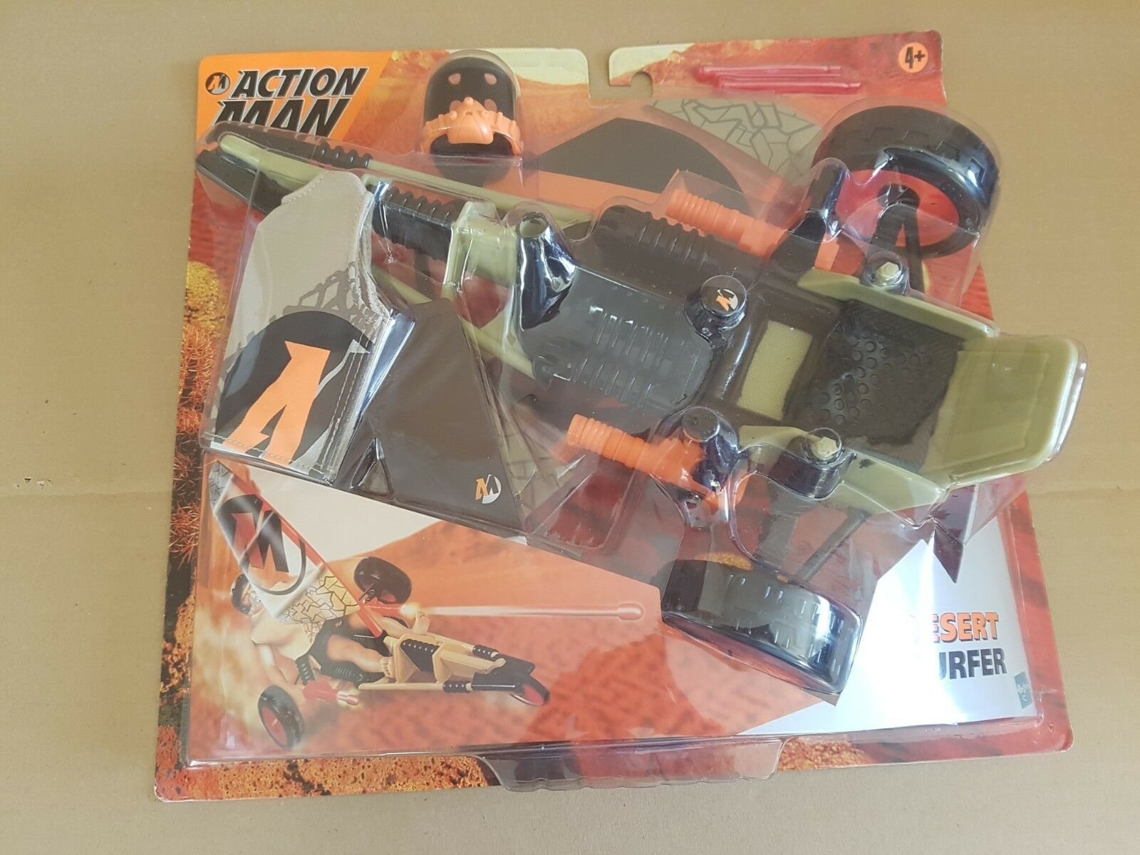 HASBRO ACTION MAN DESERT SURFER ACCESSORIES NEW BOXED RARE COLLECTABLE