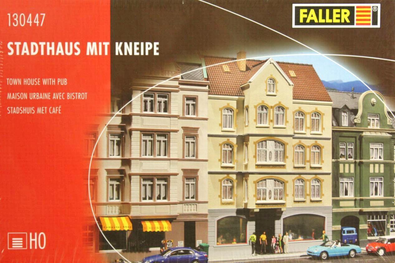 Faller 130447 H0 - Stadthaus mit Kneipe NEU & OvP  | Deutschland Store
