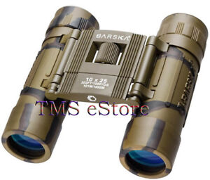 10x25-Barska-Lucid-view-10x-25mm-Camo-Binoculars-with-Case-Roof-Prism-AB10119