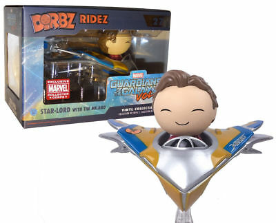 2 Dorbz Ridez Star-Lord with the Milano Exclusive Vinyl Figure #27 Funko Marvel Guardians of the Galaxy Vol