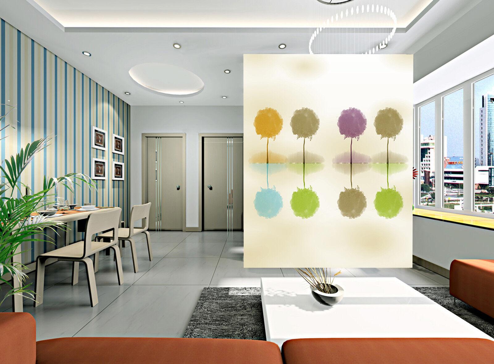 3D Painted Stamm Fototapeten Wandbild Fototapete Bild Tapete Familie Kinder