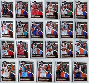 2019-20-Panini-Hoops-Rookie-Remembrance-Jersey-Relic-Card-Complete-Ur-Set-U-Pick